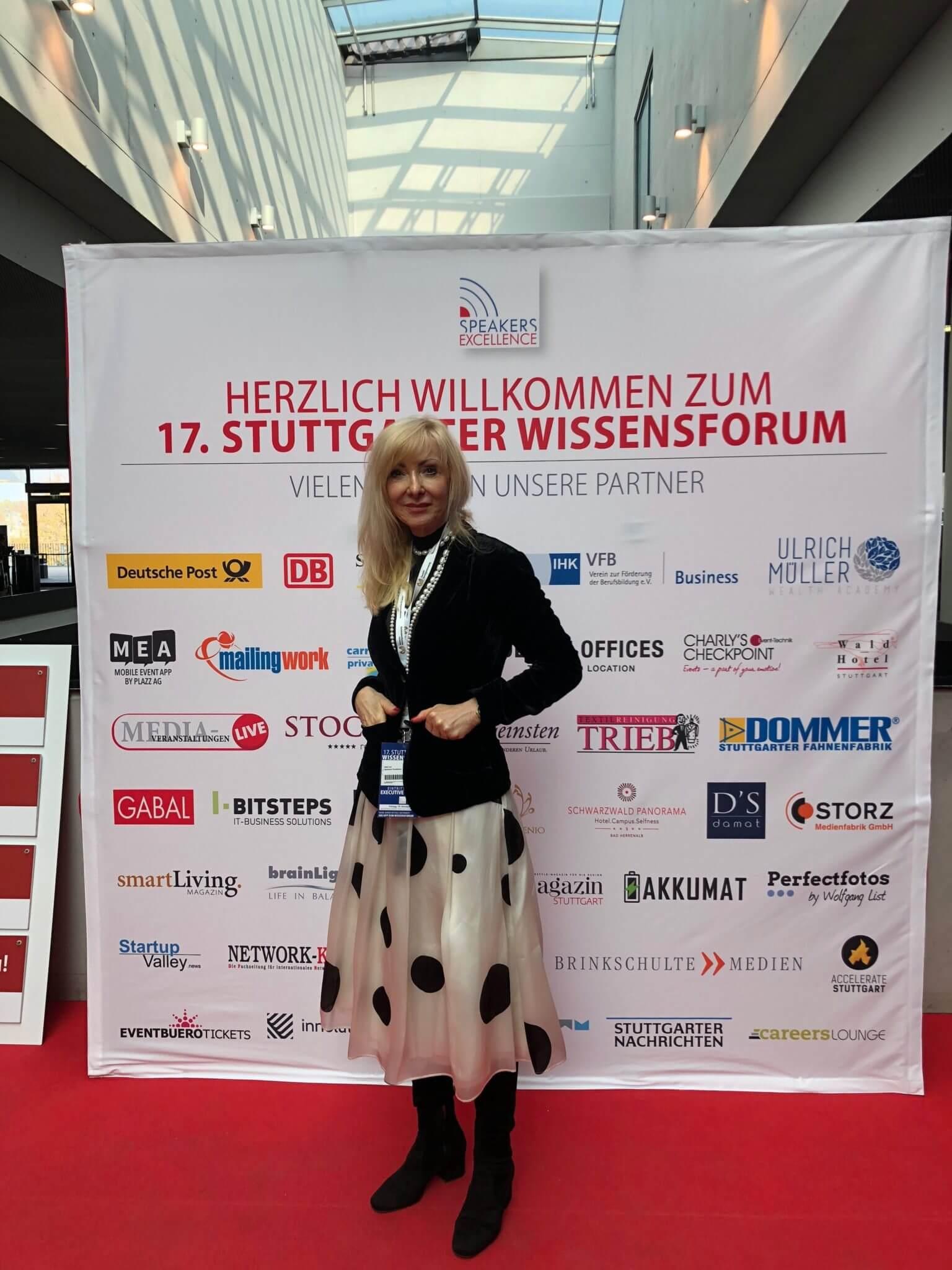 Christel Schlegel fotografiert zum 17. Stuttgarter Wissensforum