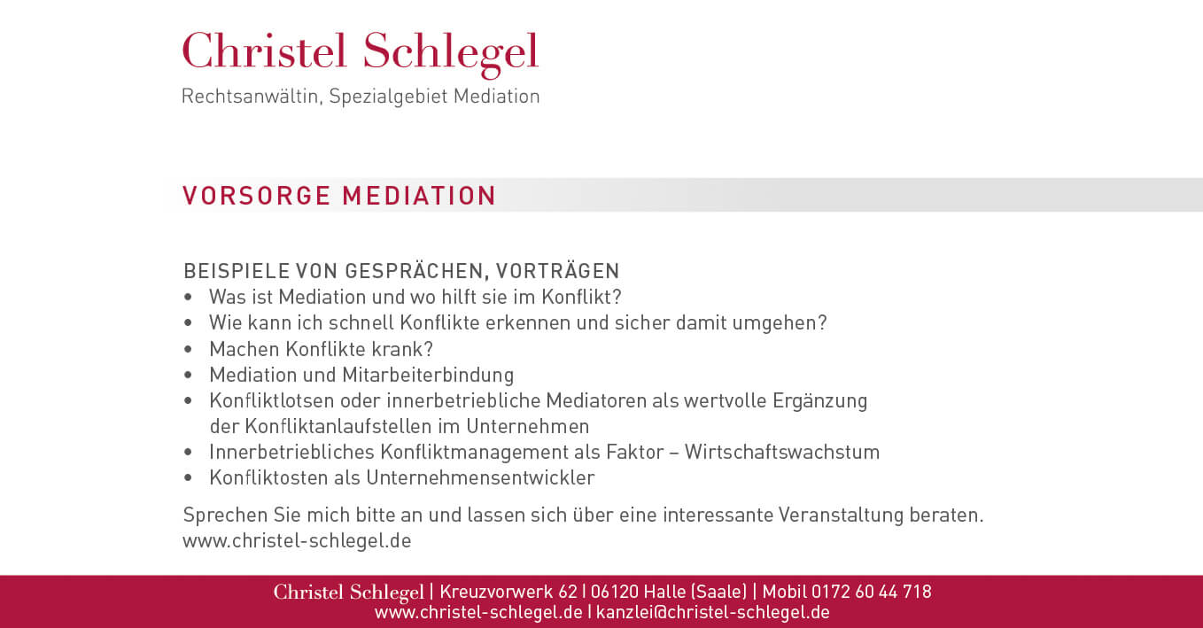 Christel Schlegel Mediation PDF Seite 12