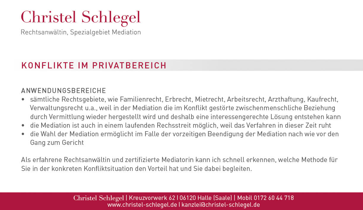 Christel Schlegel Mediation PDF Seite 2